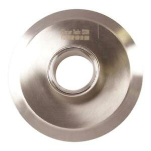 End Cap Reducer Tri Clamp clover 6 Inch X 2 Sanitary Ss304