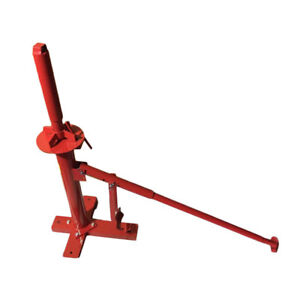Manual Portable Hand Tire Changer Bead Breaker Tool Auto Tire Tool Red Universal