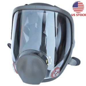 Large Size Full Face Facepiece 6800 Gas Mask Respirator Painting Spraying Safety