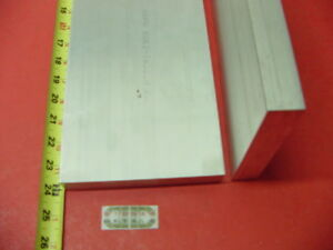 2 Pieces 1 X 6 Aluminum 6061 Flat Bar 24 Long Solid Plate Mill Stock T6511
