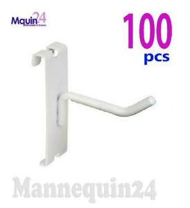 Gridwall Hooks For Grid Wall 2 100 Pcs White Free Shipping