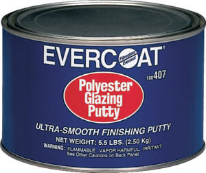 Polyester Glazing Putty 5 5 Lbs