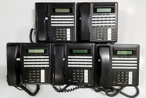 Lot Of 5 Comdial Impact 8324f fb 24 button Lcd Digital Office Phones