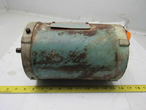 1hp Electric Motor 1725rpm 3ph 208 230 460v Fc56c Frame 5 8 Shaft