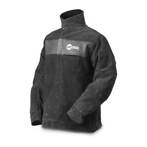 Miller Split Leather Welding Jacket Large 273214