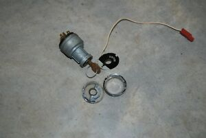 1960 68 Chrysler imperial Plymouth Dodge Ignition Switch W Key Nice Original