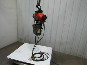 Gardner Denver Kg 10 Air Chain Hoist 3300 Lb 18 Lift 12 Pendant Tested