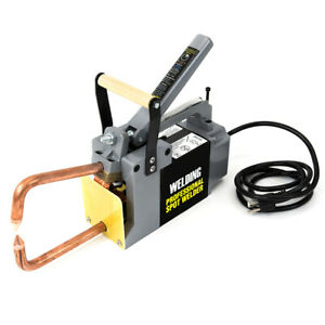 Electric Spot Welder 1 8 Single Phase Portable Handheld Welding Tip Gun 110 V