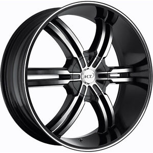 20x8 5 Black Vct Torino Wheels 5x110 5x4 5 40 Mitsubishi Lancer Evolution