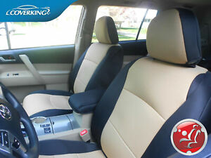 Coverking Neosupreme Custom Fit Front Rear Seat Covers For Toyota Tacoma