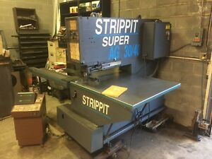 40 Tons 30 Thrt Strippit Super Ag 30 40 Hd Cnc Punch Programmable Cnc Control