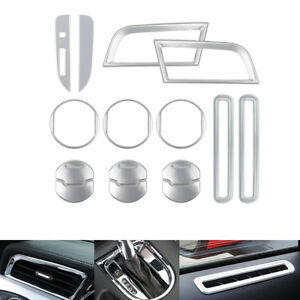 Interior Accessories Decoration Central Door Dash Vent Cover For Ford Mustang
