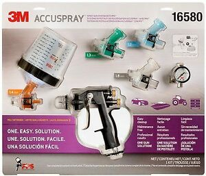 3m 16580 Accuspray One Spray Gun System With Standard Pps