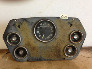 Vintage 59 60 Dodge Truck Instrument Gauge Dash Panel Cluster
