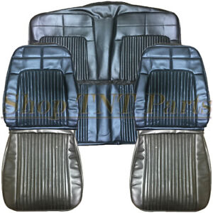 1969 Dodge Coronet Seat Covers Front Rear Back Upholstery Skins 68 Super Bee