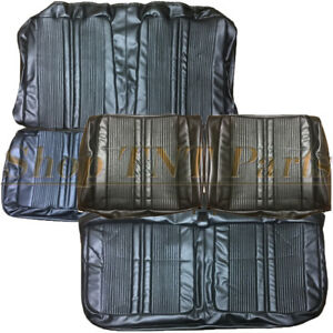 1969 Dodge Coronet Seat Covers Front Rear Split Bench Upholstery Skins 69