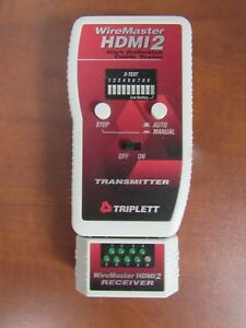Triplett Wiremaster Hdmi 2 High Definition Cable Tester 28e
