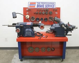 Used Ammco 3000 7000 Hustler Rotor Drum Brake Lathe Combo Service Center