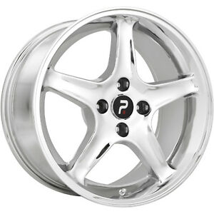 17x9 Chrome Wheel Oe Performance 102 1995 Mustang Cobra R 5x4 5