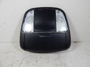2012 12 Dodge Charger Black Overhead Console W Homelink Oem Lkq