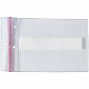 Reclosable Press on Vinyl Envelopes Keeps Inserts Clean And Moisture Free 50 Pk