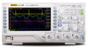 Rigol Ds1104z s Digital Oscilloscopes Bandwidth 100 Mhz Channels 4