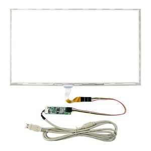 15 6 5 Wire Resistive Touch Panel For 15 6 1366x768 1920x1080 Lcd controller