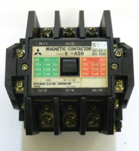 Mitsubishi Electric Corp Magnetic Contactor Type S 450