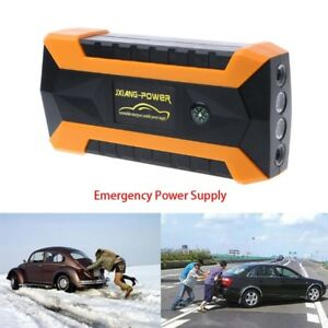89800mah 4 Usb Car Jump Starter Pack Booster Portable Charger Battery Power Bank