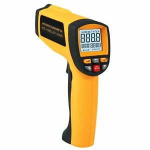 50 1 Digital Professional Infrared Ir Thermometer Laser 58 2102 f 50 1150 c