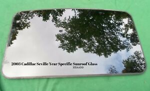 2003 Cadillac Seville Year Specific Oem Factory Sunroof Glass Free Shipping