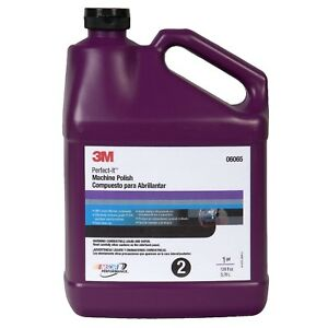 3m 06065 Perfect it Machine Polish Automotive Detailing Compound gallon