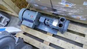 Lobee 16lr 2 Liquid Ring Vacuum Pump With 5 Hp 5kw184bd205a Ge Ac Motor