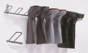 New Rackems Boot Rack In Black Holds 4 Pairs Wall Mountable Boot Rack