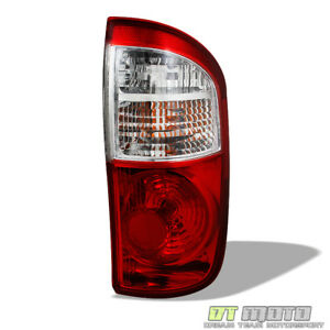 For 2004 2005 2006 Toyota Tundra Double Cab Tail Lights Lamps Rh Passenger Side