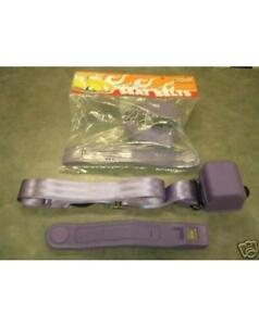 Universal Retractable 3 Point Plum Purple Seat Belts Pair Street Rod Seatbelt