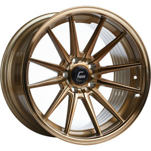 19x9 5 Hyperbronze Cosmis Racing R1 Wheels 5x4 5 20 Fits Ford Mustang
