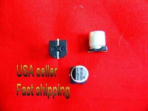 25 Pcs 68uf 35v Smd Electrolytic Capacitors Free Shipping