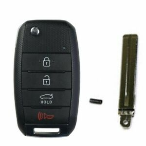 Keyless Entry Remote Control Folding Key 3p For 2012 Rio Pride Oem Parts