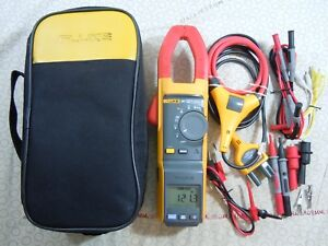 Fluke 381 Remote Display Trms Clamp Meter Kit With Iflex Case 57758 57759