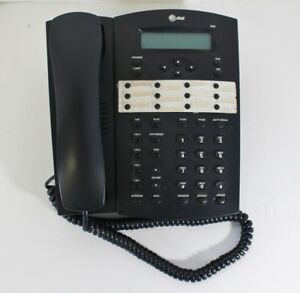 Pre owned At t 4 Line Office Business Phone Model 944 Hybrid Telephone Handset