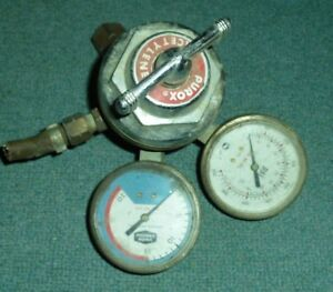 Purox Acetylene Gas Pressure Gauge Regulator R 207 Usa Made