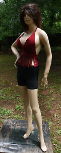 Realistic Voluptuous Full Body Female Mannequin Mm hlm6d Painted Used Excellent