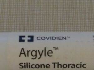 Lot Of 9 Covidien 8888572578 Argyle Silicone Thoracic Tube 36fr Straight Lab Vet