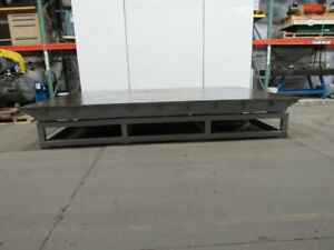 1 1 8 Top Steel Fabrication Machine Base Jig Work Weld Table 100 x146 1 2 x23