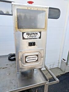 Bunn G9 Single Hopper Portion Control Commercial Coffee Bean Grinder 9 Lb