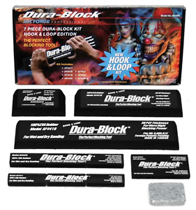 Dura Block Af44hl 7 Piece Hook Loop Auto Body Sanding Block Kit W Soap