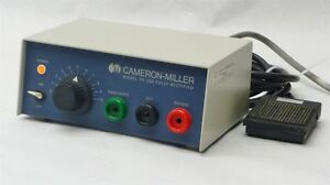 Cameron miller 26 230 Dental Surgical Electrosurge Electrosurgical W foot Pedal
