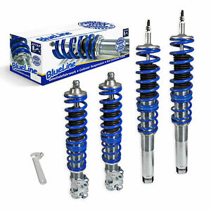 Jom Vw Golf Jetta Mk3 3 Euro Height Adjustable Coilover Suspension Lowering Kit