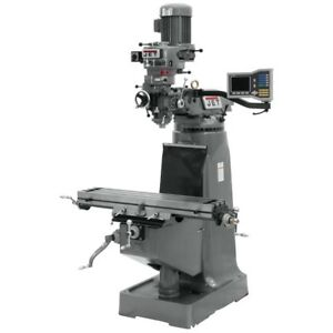 Jet 690283 Jtm 2 Mill With Acu rite Vue Dro